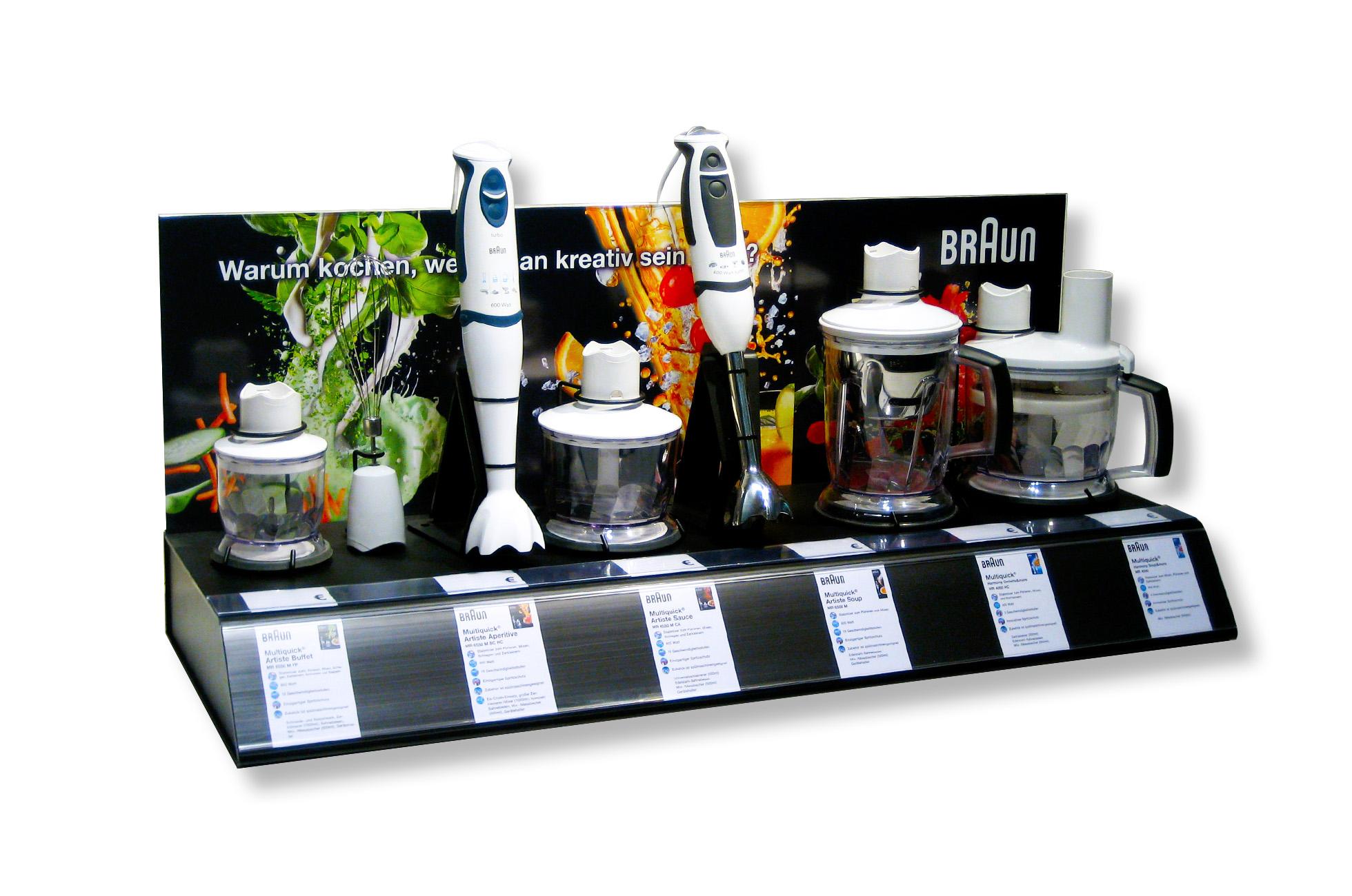 Braun Retail POS-Display