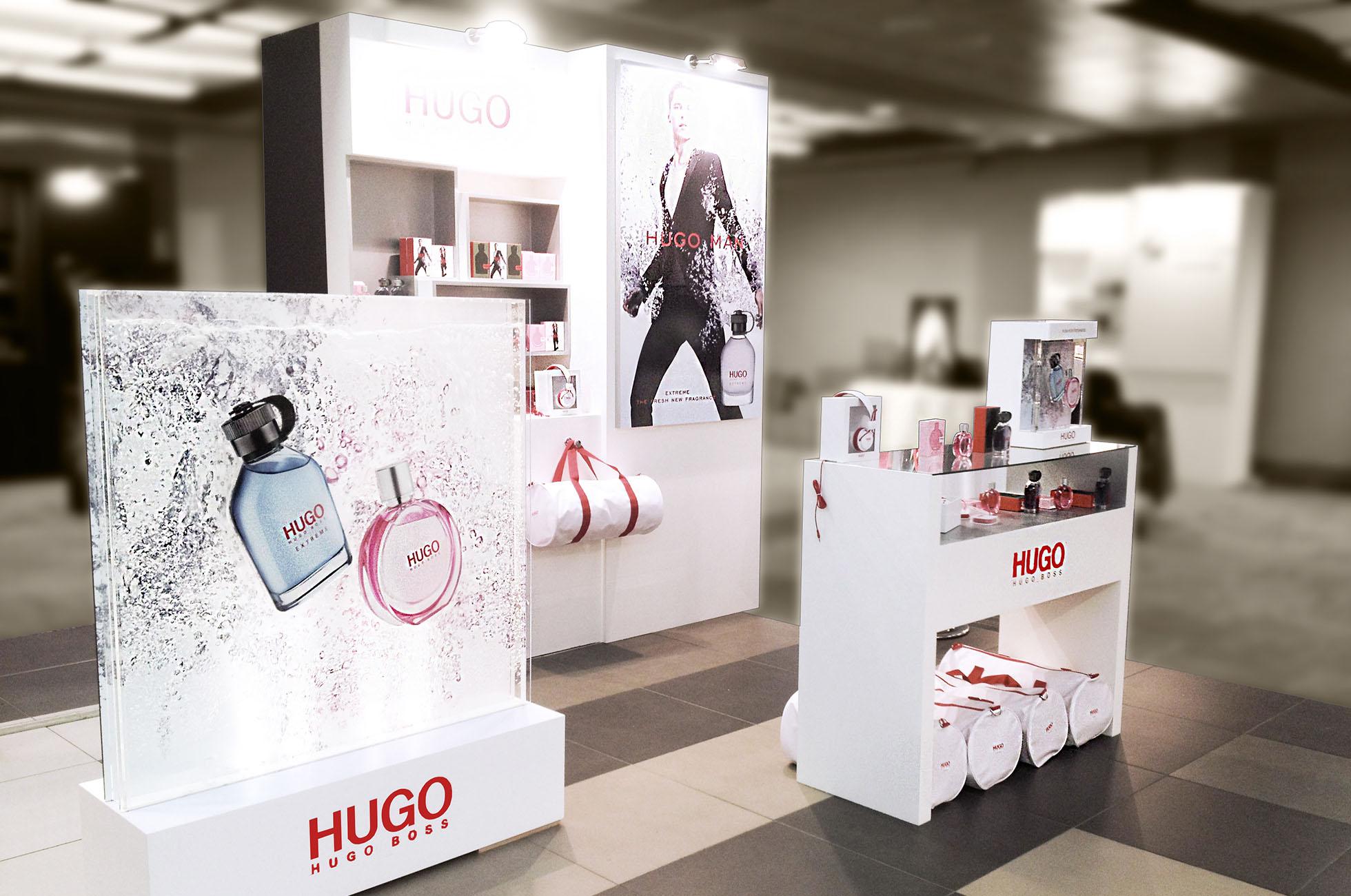 Hugo Boss Retail Design